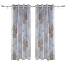 Insulated Kitchen Curtains by Deconovo Rod Pocket Curtain Thermal Insulated Blackout Curtains