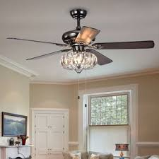 Chandelier Ceiling Fans With Lights Chandelier Ceiling Fan Wayfair