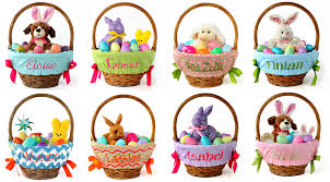personalized basket personalized gifts easter basket liners page 1 our messes