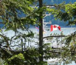 Canadian Provincial Flags Flying 50 Years For Canada Celebrating The National Flag U2013 Cycle