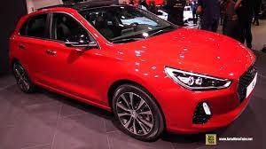 2017 hyundai i30 exterior and interior walkaround debut at