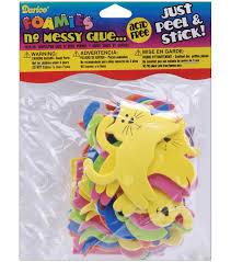 darice foam stickers 135 pkg cats dogs assorted colors joann