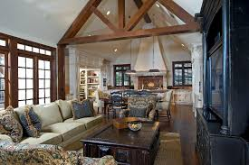 English Cottage Design by English Cottage Style Living Room Love All The Wood Beams And