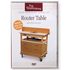 project plans router table project with matt kenney dvd