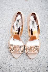 wedding shoes gold 19 most popular badgley mischka wedding shoes modwedding