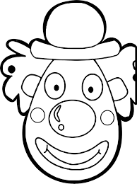 100 clowns coloring pages good printable circus coloring pages