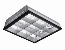 2x2 Drop Ceiling Light Fixtures Parabolic 2x2 Grid Light Fixture 9 Cell