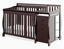 Convertible Cribs With Attached Changing Table by Storkcraft Portofino 4 In 1 Convertible Crib And Changer U0026 Reviews