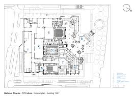 national theatre floor plan gallery of national theatre haworth tompkins 22
