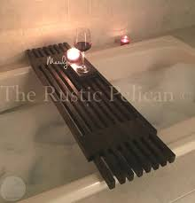 Wine Glass Holder For Bathtub Bathtub Caddy I Made For My Wife It Has A Hand Towel Holder