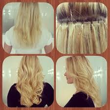 weft hair extensions beaded weft hair extension application hair by