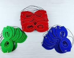 pj masks party pack etsy