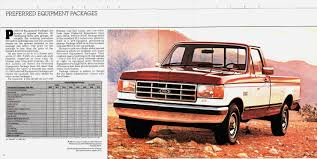 Vintage Ford Truck Advertisements - auto brochures