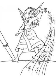 coloring tinkerbell secret wings coloring pages