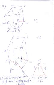 fie abcda u0027b u0027c u0027d u0027 prisma triunghiulara regulata dreapta cu ab
