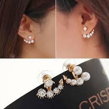 sweet earrings new arrive dis symmetry design stud earrings korean style sweet