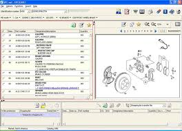 mercedes part catalog epc 500 section
