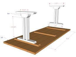 build your own table remodelaholic rustic x dining table and bench building plan creative
