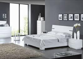 chambre blanche et grise chambre grise et blanc moderne chaios com
