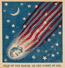 United States Flag 1861 Star Of The North Or The Comet Of 1861 U2033 Civil War Envelope