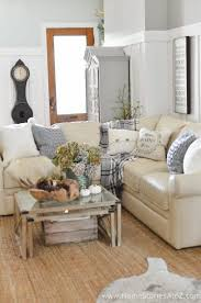 Fall Living Room Ideas by Diy Home Decor Fall Home Tour Home Stories A To Z