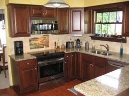 Stainless Steel Sink With Bronze Faucet Kitchen Counter Backsplash Ideas Stained Cabinet Colors Rust Oleum