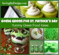 green food ideas for st patrick u0027s day saving by design