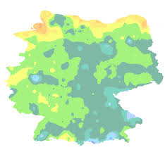 Kaiserslautern Germany Map by Germany Interactive First Frost Map
