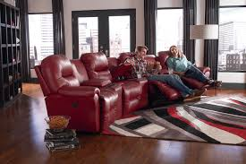 4 seater power reclining home theater group by best home