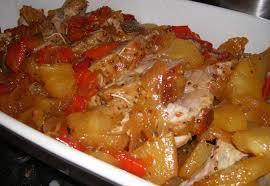 cuisiner roti de porc rôti de porc à la moutarde et l ananas saveurs de famille