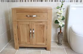 Oak Bathroom Cabinet Oak Bathroom Storage Unit 502