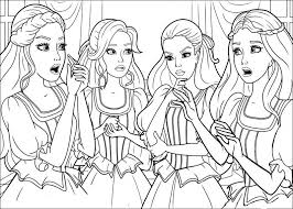 barbie colouring pages free download 541 barbie coloring