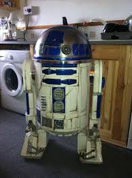 r2d2 how to battle damaged r2 and add low cost audio n led lights