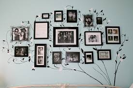 frame ideas photo frame ideas for your living room wall space blog photo