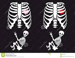 skeleton baby boy and vector set stock vector image 60163519