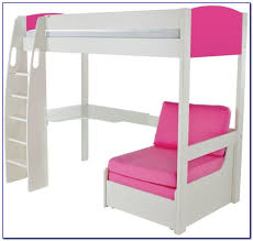 High Sleeper With Desk And Futon Stompa Uno High Sleeper With Futon Futons Home Design Ideas