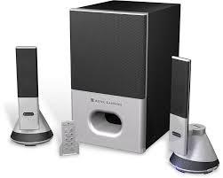 altec home theater altec lansing vs4221 2 1 powered speaker system at crutchfield com
