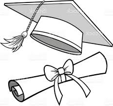 graduation diploma drawing of graduation cap best 15 graduation cap and diploma