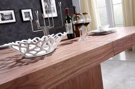 extendable dining table in walnut by casabianca