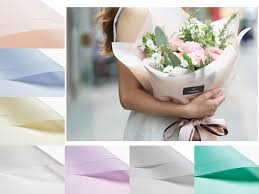 waterproof wrapping paper free shipping 10pcs lot 58x58cm waterproof flowers packaging gift