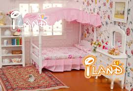 Princess Bedroom Furniture 1 12 Princess Bedroom Furniture Miniature 3in1 Toy Set Bed