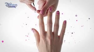 bunk u0027d nail art tutorial emma official disney channel uk