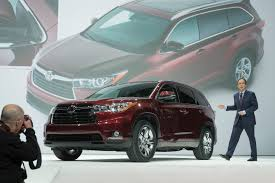 Does Toyota Make Diesel Engines Toyota Kluger All New Suv Now Seats Eight But Still Lacks Diesel