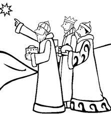 three kings following star of bethlehem coloring pages batch