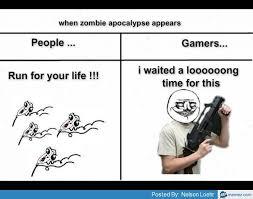 Zombie Apocalypse Meme - when the zombie apocalypse appears memes pinterest funny