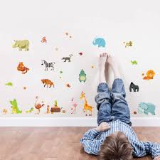 compare prices on wall murals baby online shopping buy low price cartoon animals wall sticker kids room babies room wall decor poster luggage cup decor wall decal