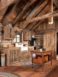 Log Home Decorating Gorgeous Rustic Log Cabin Kitchen From Off Grid World Rustic