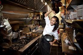 kitchen chef chef bao bao gets her kicks in the kitchen