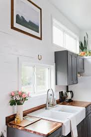 How To Update Kitchen Cabinets In An Apartment 5 Ways To Style An Ugly Renter U0027s Kitchen The Everygirl