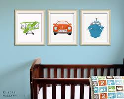 Transportation Nursery Decor Transportation Wall Tranpsortation Prints For Boys Nursery